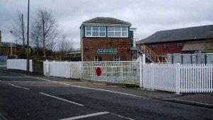 Blackburn Daisyfield Level Crossing