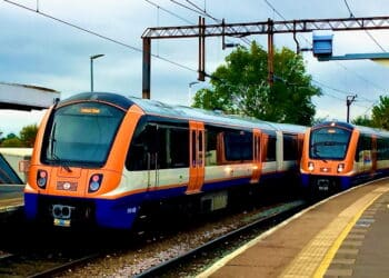 Class 710 trains operating on London Overground