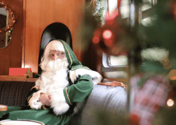Father Christmas at the Mid Hants Railway