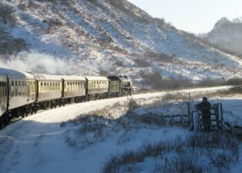 North Yorkshire Moors Railway Christmas dining train