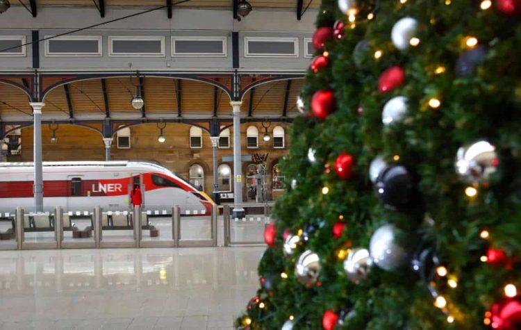 London North Eastern Railway Christmas travel