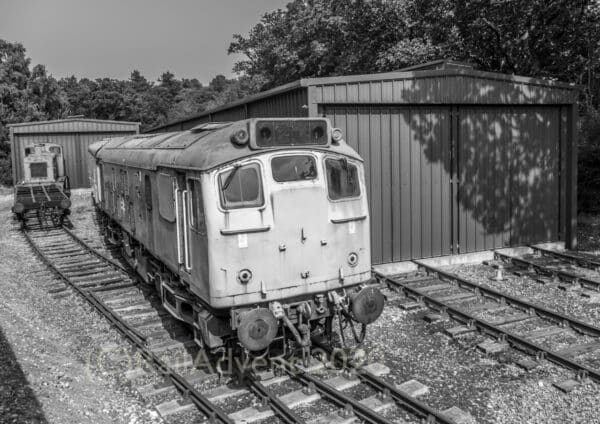 BR Class 25059 on the North Norfolk Railway