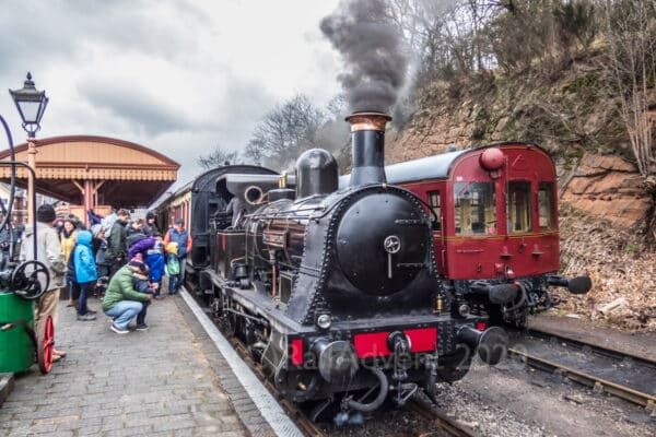 Bellerophon at Bewdley on the Severn Valley Railway