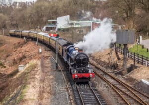 6013 King Edward II on the Severn Valley Railway