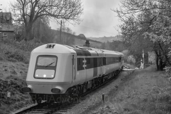 BR Class 41 No. 41001 on the Keighley and Worth Valley Railway