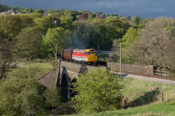 31163 on the Keighley and Worth Valley Railway