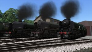 Bossman Games Bulleid Light Pacific pack for Train Simulator 2021