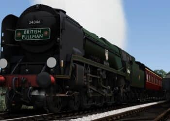 Bossman Games Bulleid Light Pacific pack for Train Simulator 2021