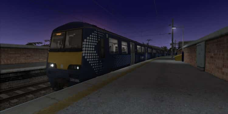 Suburban Glasgow North West route for Train Simulator
