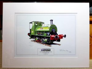 Steam Locomotive Peckett Teddy Jo