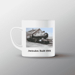 New cup showing 2874 locomotive