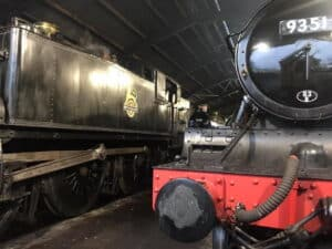 5199 at Bishops Lydeard on the West Somerset Railway