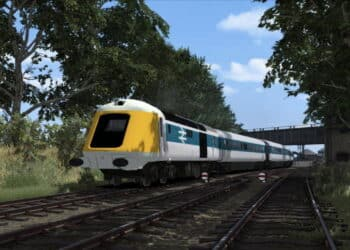 Prototype HST for Train Simulator