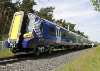 ScotRail Class 380 electric train