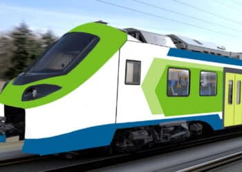 Coradia Stream for FNM. For illustrative purposes only. © Alstom / Design & Styling