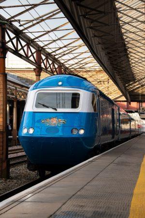 LSL Blue Pullman HST at Crewe