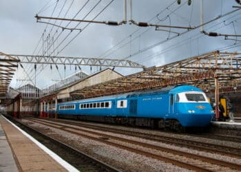 LSL Blue Pullman HST at Crewe