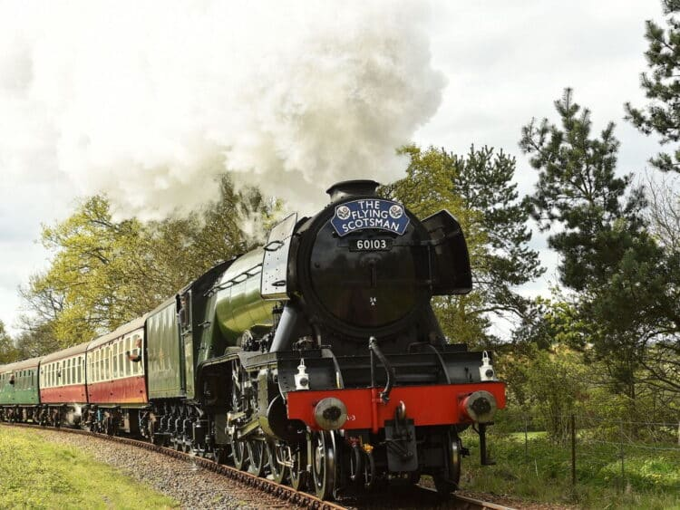 Flying Scotsman could be halted if coal supplies dwindle