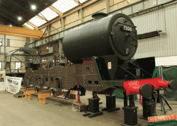 72010 Hengist takes shape at CTL Seal in Sheffield