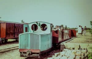 1960s view of the Lincolnshire Coast Light Railway