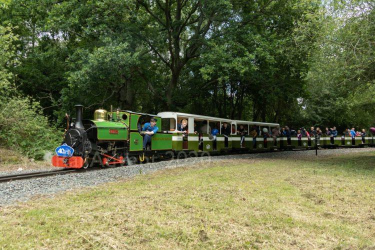Mad Bess on the Ruislip Lido Railway