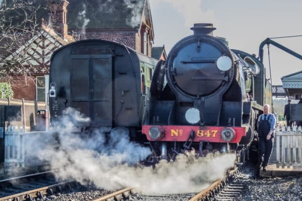 SR 847 at Sheffield Park on the Bluebell Railway