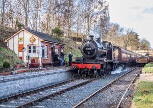 53808 at Eardington on the Severn Valley Railway