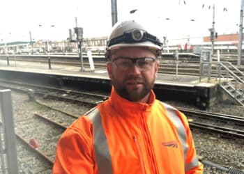 Ricky Collins, Network Rail worker in Doncaster