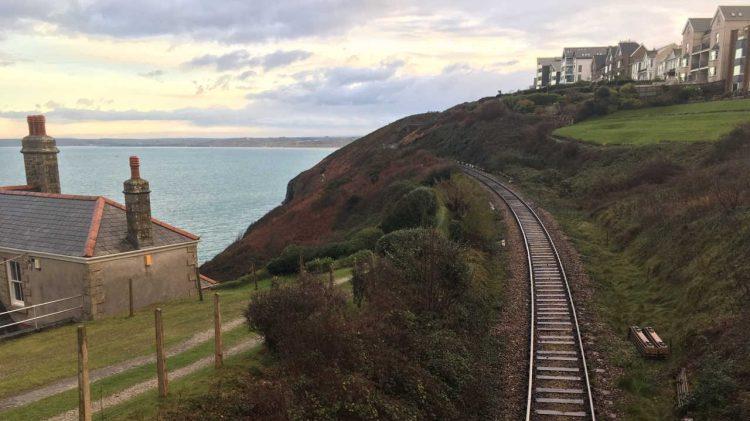 St Ives Cornwall Railway Track Renewal work