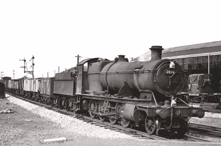 2874 in service with British Rail