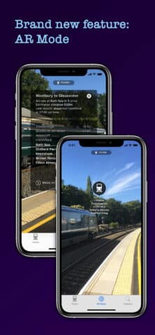 Train Beacon app for Apple IOS and Google Android
