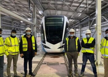 Alstom conducts first test-run in Algeria for Mostaganem tramway