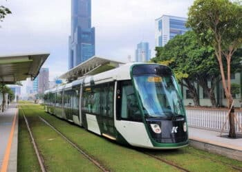 Alstom introduces Citadis X05 trams to Kaohsiung