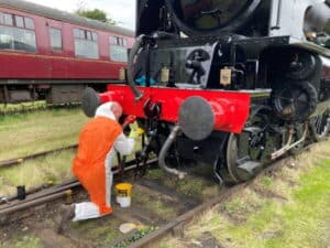 Finishing touches to 60163 Tornado