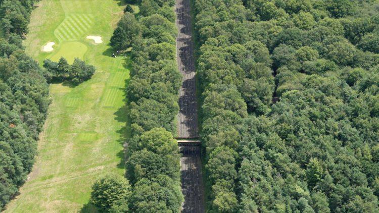 Beaconsfield bridge aerial