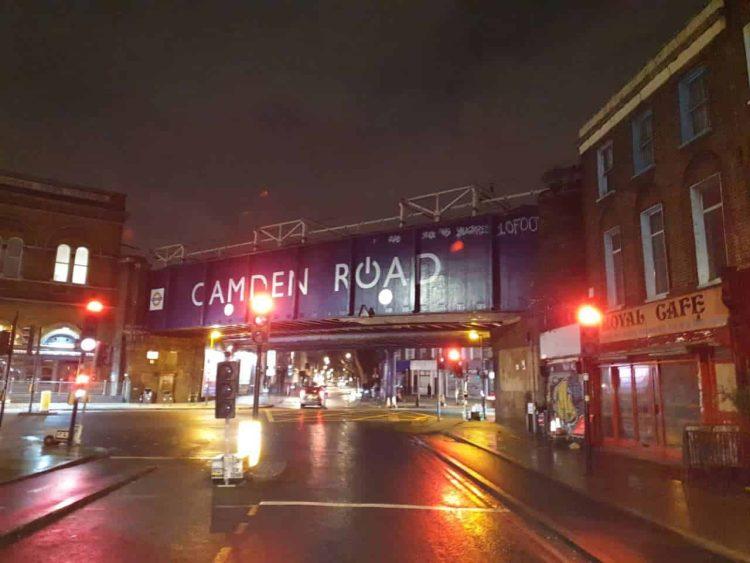 Camden Road Railway Bridge