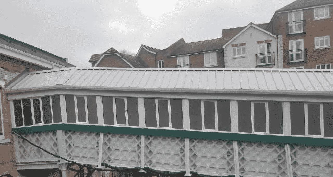 Caterham station footbridge