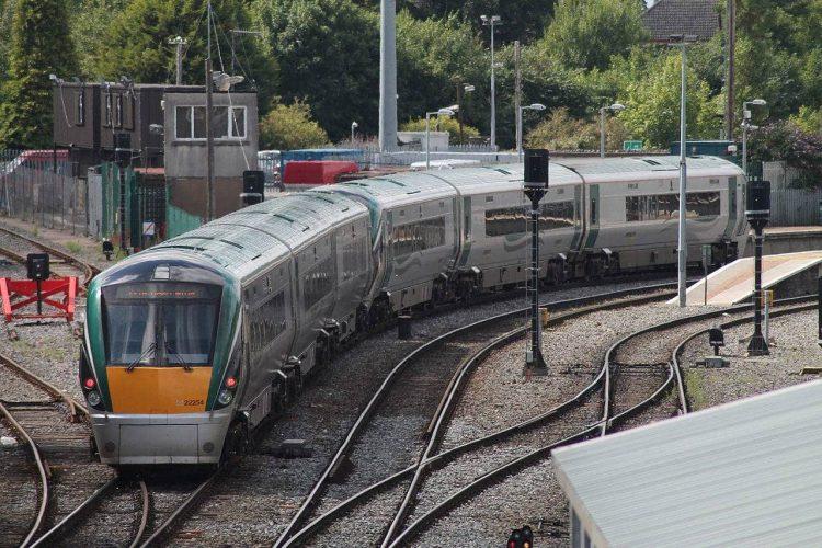 Irish Rail Class 22000 train