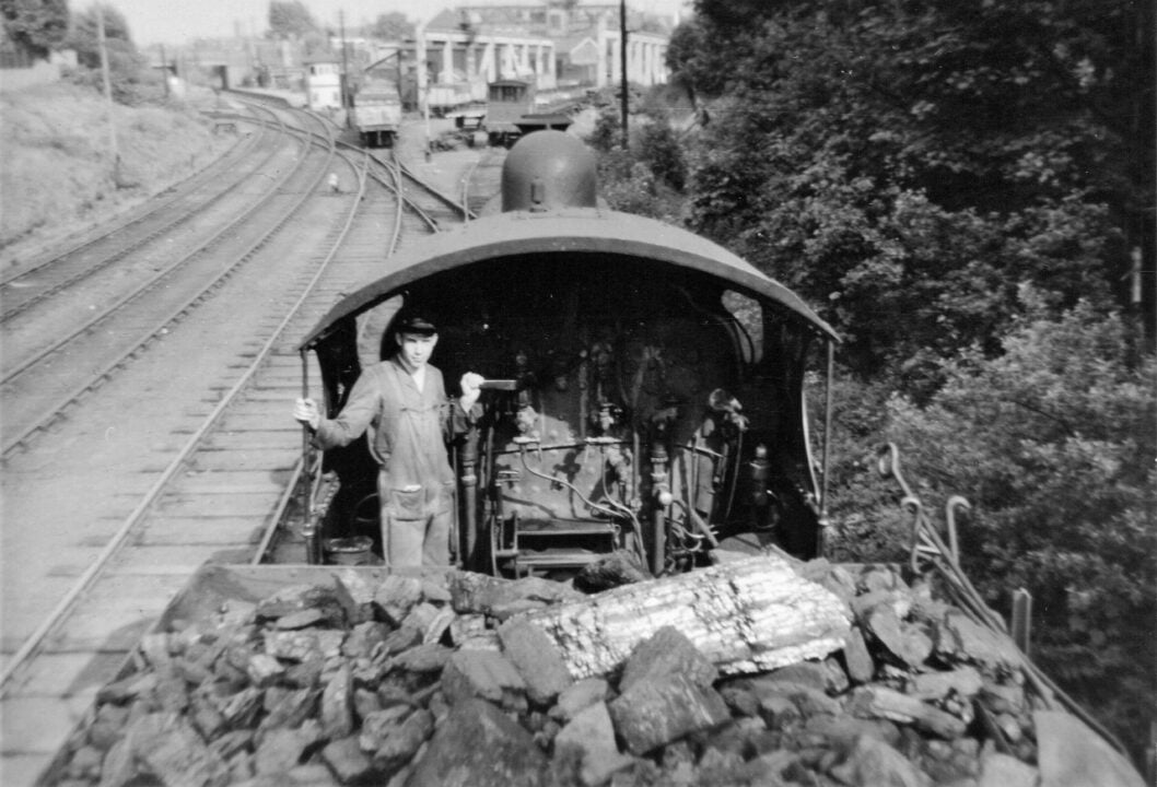 Fireman Ray Churchill Shunting Willenhall Stafford Street Super 'D' 1960s