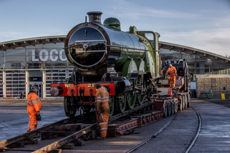 GNR Atlantic No 251 at Locomotion Shildon