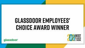 Glassdoor employee's choice award Network Rail