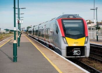 Greater Anglia 410 train