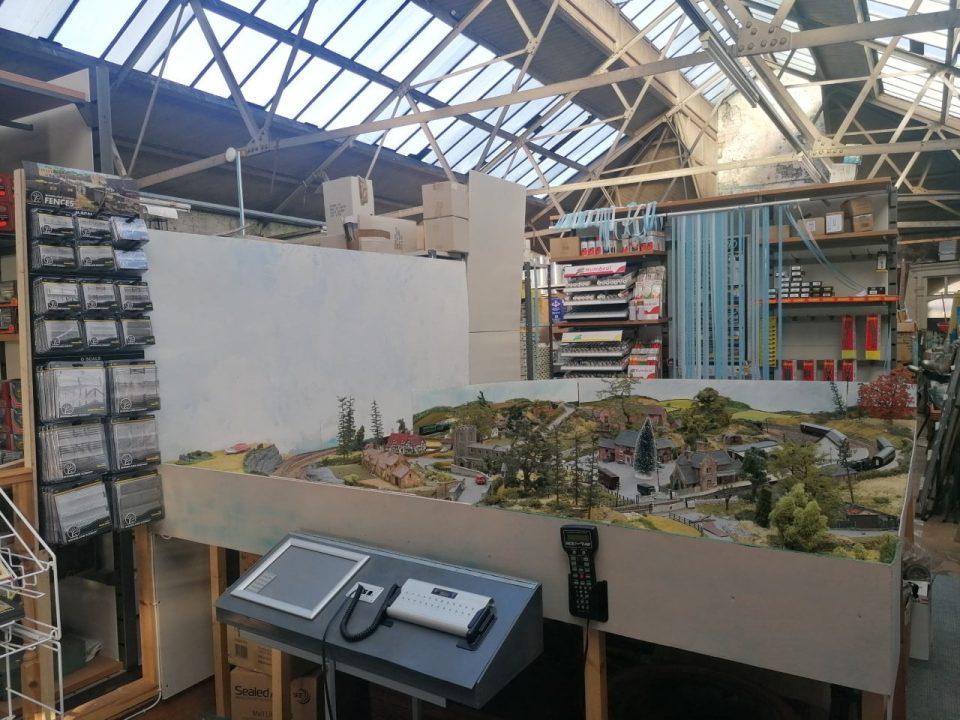 The Model Train Centre shop in Nelson