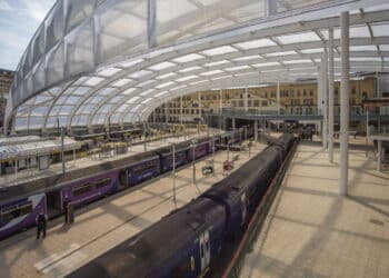 Manchester Victoria roof