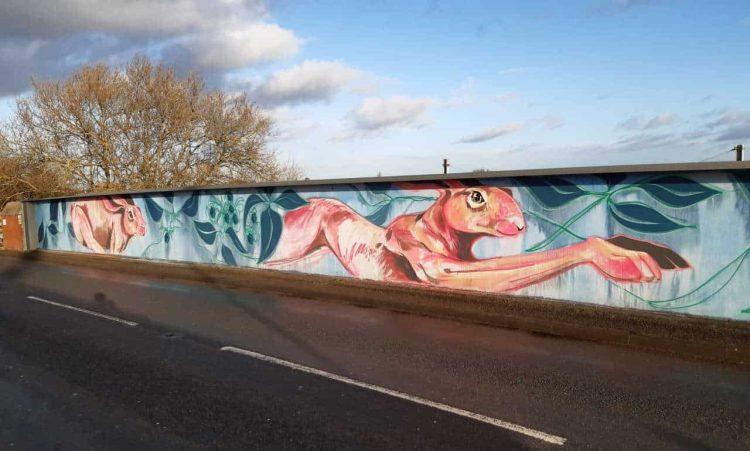 Network Rail installs artwork in York village to help tackle graffiti near railway