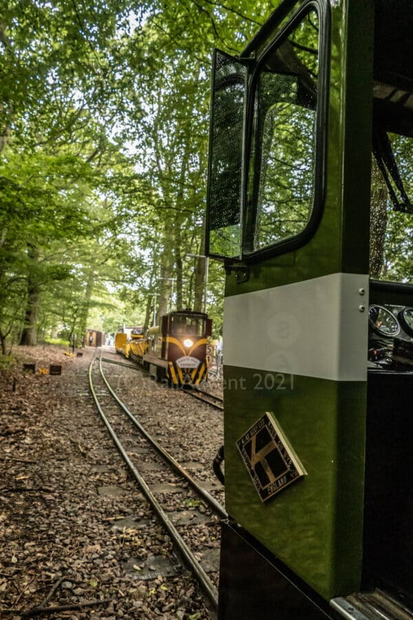 Bayhurst and Lady of the Lakes on the Ruislip Lido Railway