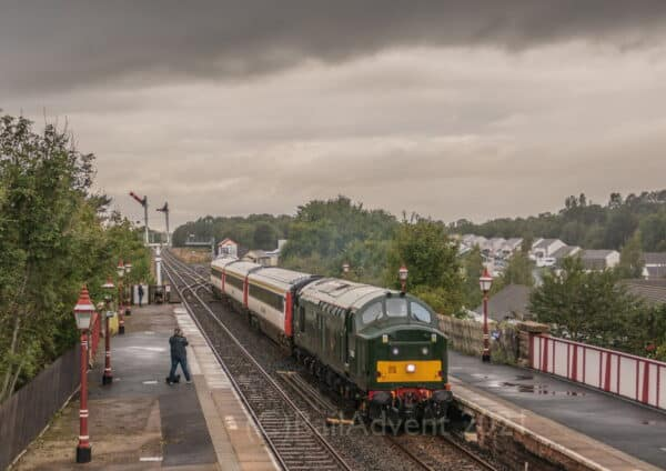 37521 at Appleby with The Staycation Express