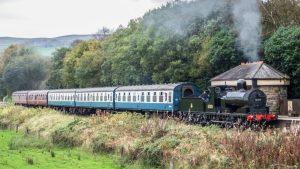 52322 on the East Lancashire Railway