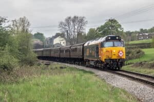 50007 on the Keighley and Worth Valley Railway