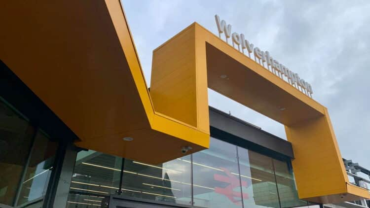 Wolverhampton station - external